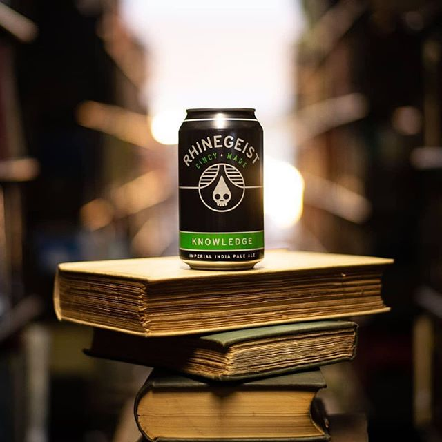 That's what we do. We drink and we know things...and eat wings. Photo cred: our partners @rhinegeist #owbf2019
