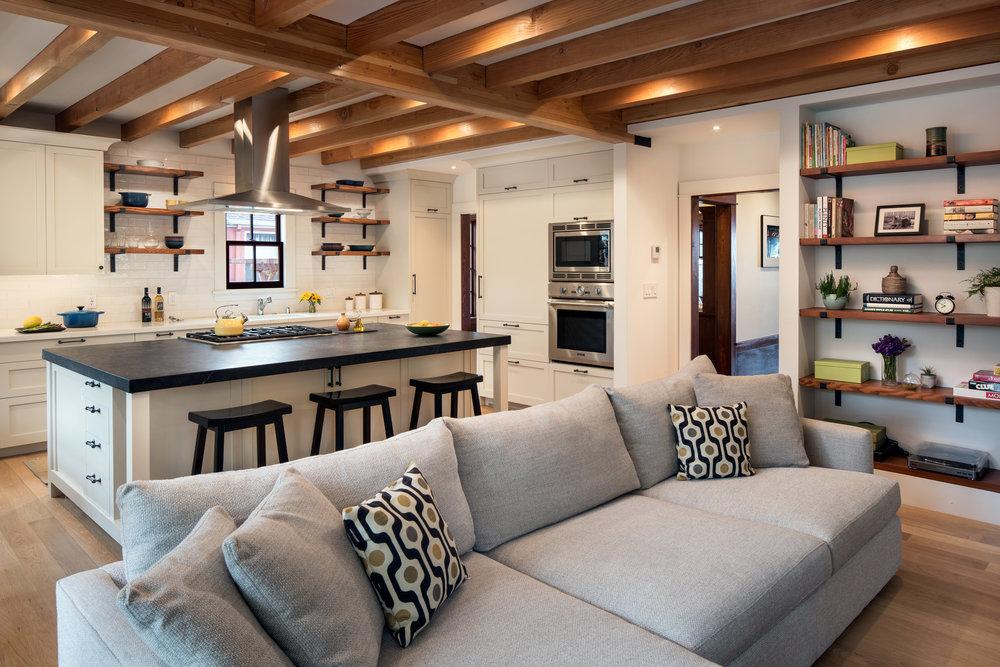 studio and kitchen plus