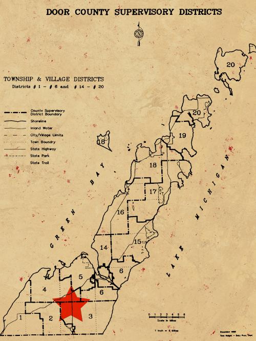 Door County Map - Southern Door Group.png