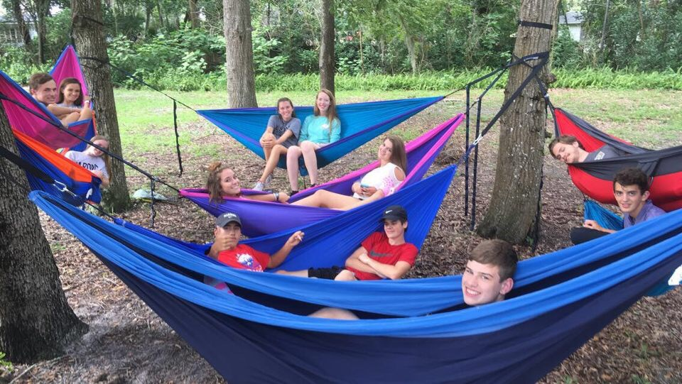 In hammocks behind the FLC Summer 2017.JPG