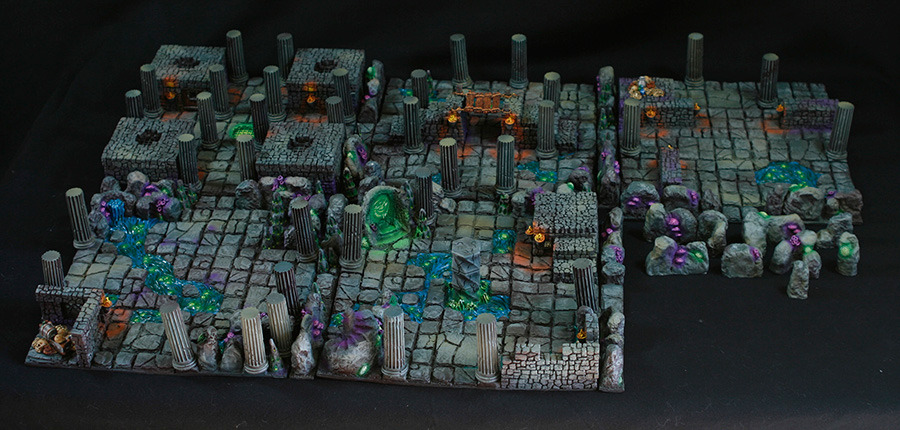 Super 3D Dungeon Boards