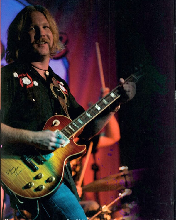 Devon Allman, Like Father Like Son - Hittin' The Note, 2009 - Issue #63