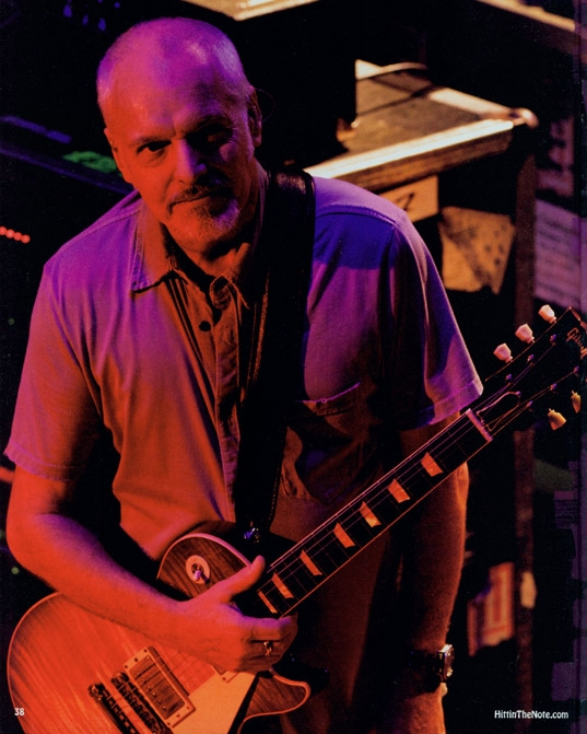 Peter Frampton Gets Personal - Hittin' The Note, 2010 - Issue #65