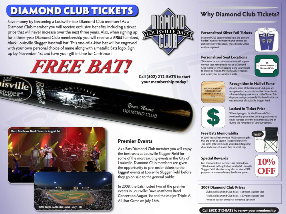 Louisville Bats Brochure - Photos by C Michael Stewart
