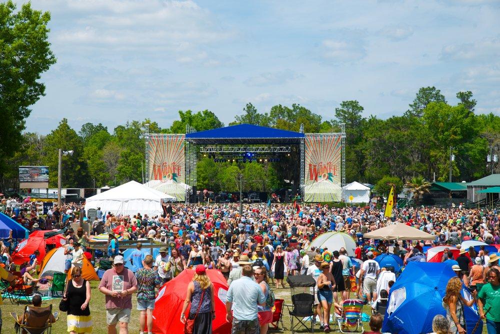 Wanee Music Festival Live Oak, FL