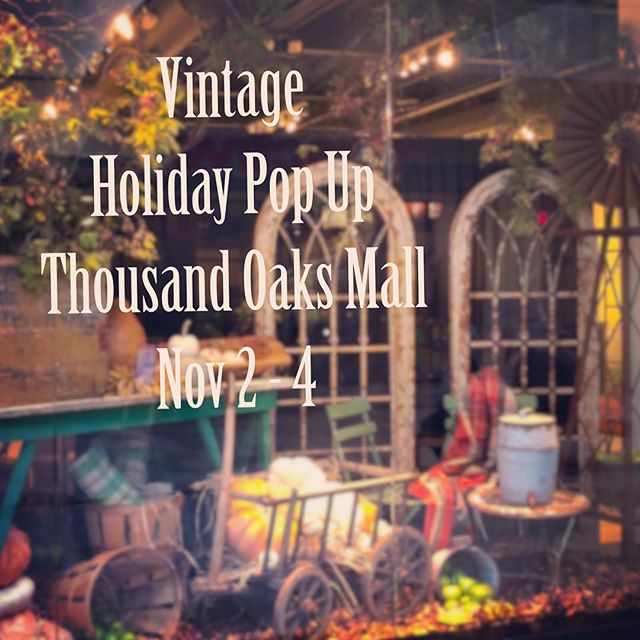 We are honored once again to collaborate with @barnhousechicksmarket @debrahalllifestyle @sticksnstonesantiques @carolinahousedesigns @thepinkporchventura (aka Vintage6) to bring you our special pop up that will capture the essence of the season and showcase a ton of amazing vintage treasures that will make your knees knock.  Seriously, if you have plans that weekend....cancel them!! You don't want to miss this one 😉  Keep following us for more details and sneak peaks along the way!! . . . . #popup #popupshop #vintage #repurposed #homedecor #countryliving #farmhousestyle #home #holidays #farmhousecomforts #vintage6 #shoptheoaks #shoplocal