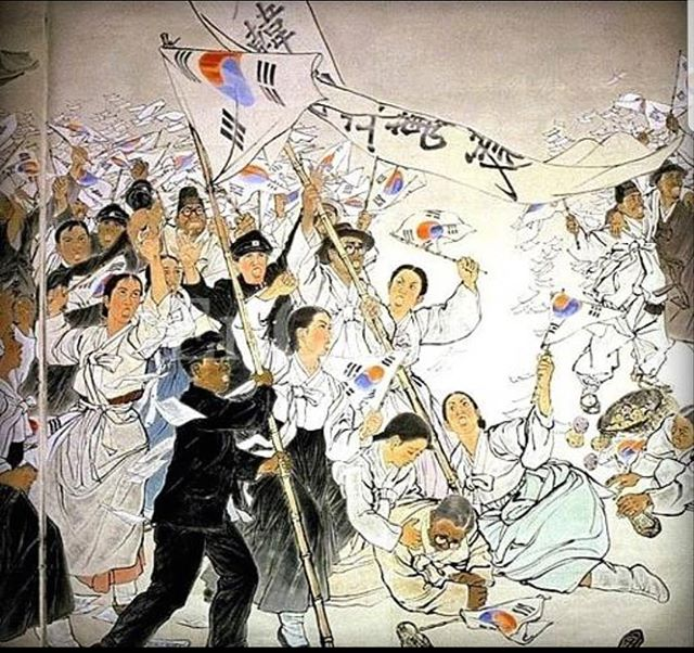 Today is March 1st!!! The 100th anniversary of the Korean independence movement to rise against the Japanese colonialists in Korea in 1919!  Celebrate with us as we remember those whose lives were lost and sacrificed for their desire to have basic human rights.  I'll be making a few more posts today with some info (let's hope my memory works today)  #koreanamericanheritagepodcast #koreanamerican #kahp #dosan #dosanahnchangho #korea #koreanflag #koreanindependence #marchfirstmovement #marchfirst #history #koreanhistory #neverforget