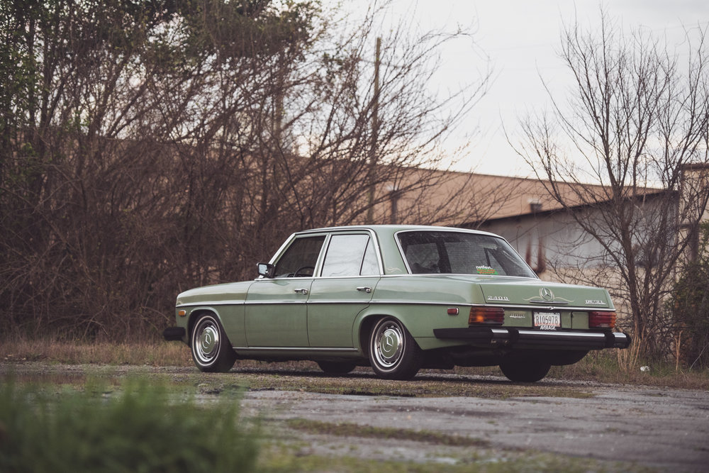 Dead Reliable - Lee Purvis' 1974 Mercedes 240DMarch 2019 | Macon, GA