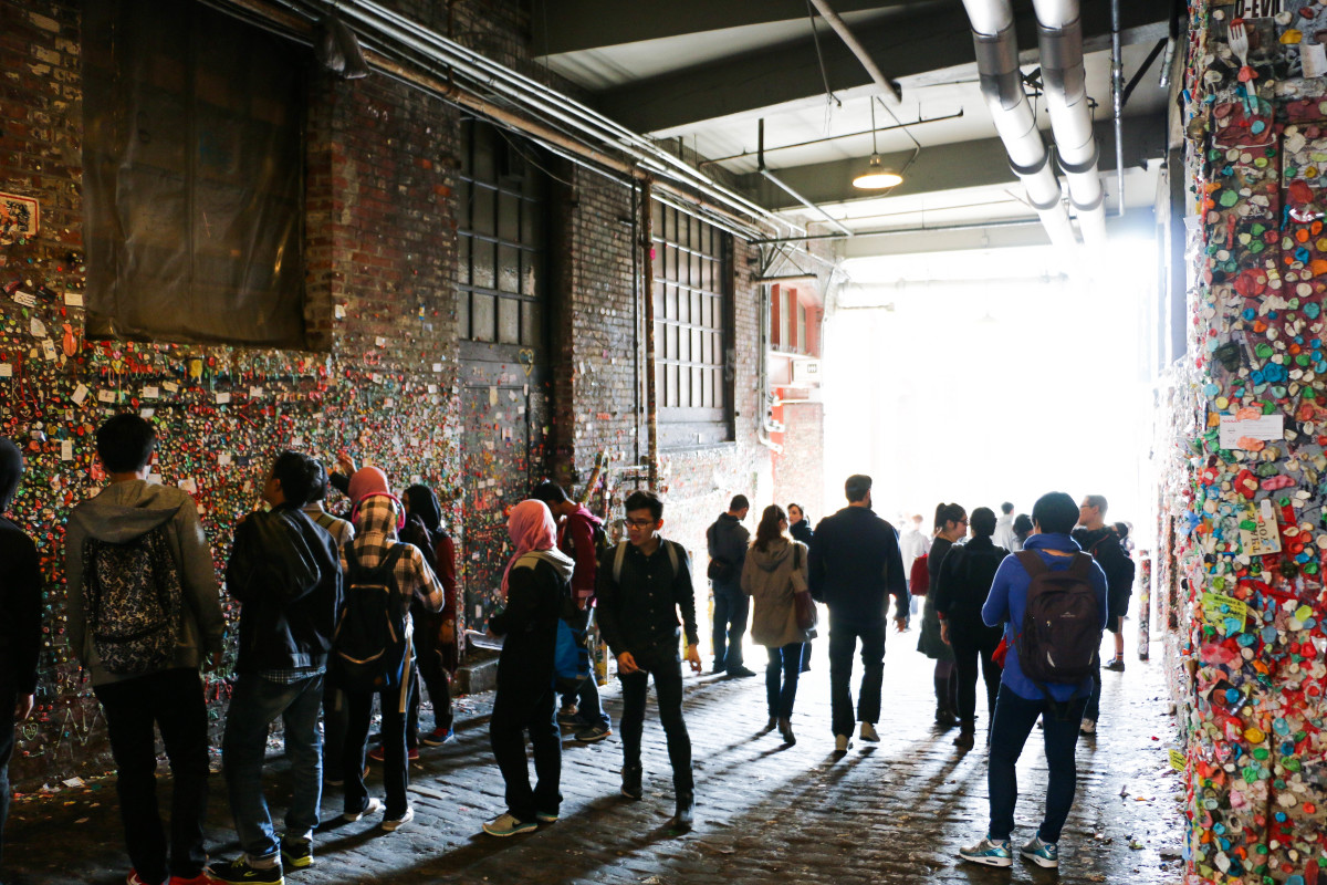 Seattle's Iconic Gum Wall melts Away. Click for more!