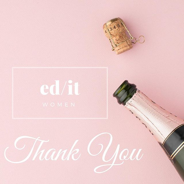 Thanks to our attendees, partners, vendors and supporters for the love. We have been blown away by your messages, emails and conversations that have made us feel so much joy today. We'd love your feedback to make the next event even better. Attendees and partners, please look for our survey in your inbox. We've also got a prize draw for those who complete the survey, @stmgoods have kindly offered two gifts for winners of the feedback draw. Entries close this Friday so get your feedback in quick to be in the running to win this great prize!  #womeninit #edutech #learningtechnology #womensleadership #tech #technologynews #womensnetwork #ladies #femaleentrepreneur #femaleempowerment #educator #informationtechnology #editwomenco #womenintech #entrepreneur #business #businesswoman #networking #feminism #technology #edtech #startup #community #heforshe #education #editexchange #highteaforwomeninit #stem #editwomencoht