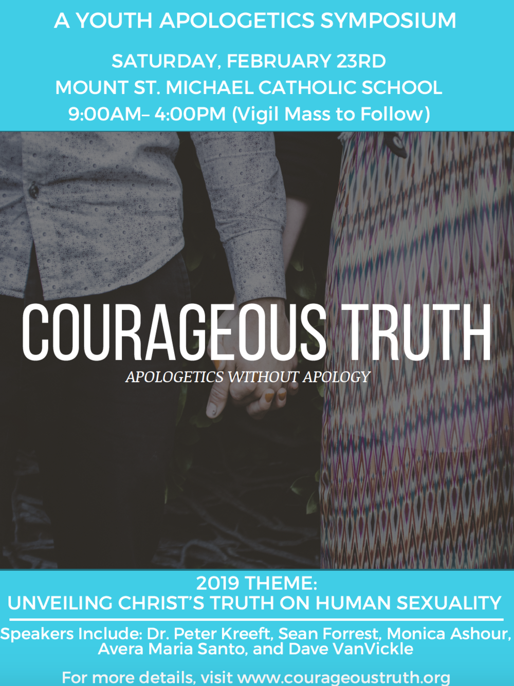 COURAGEOUS TRUTH - Click HERE for more information
