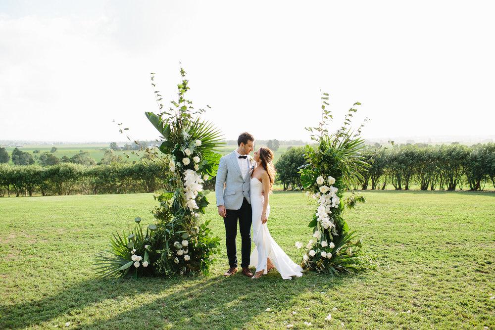 White Magazine - Real Wedding - Kirsten and Tom