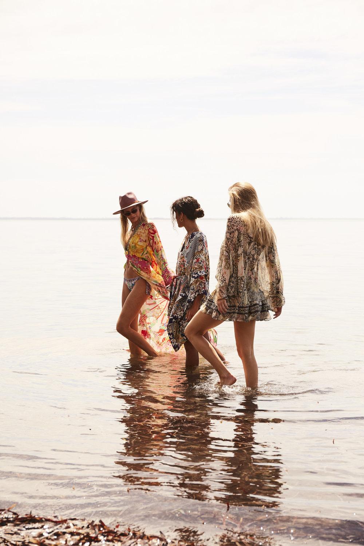 Brit Brock ,  Marianne  &  Kate McGlone