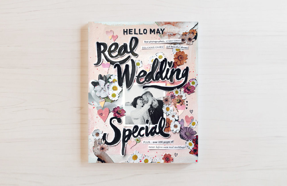 Hello May - Real Wedding Special - Hello May annual Real Wedding Special - Published 2019Katie & Gus page 140