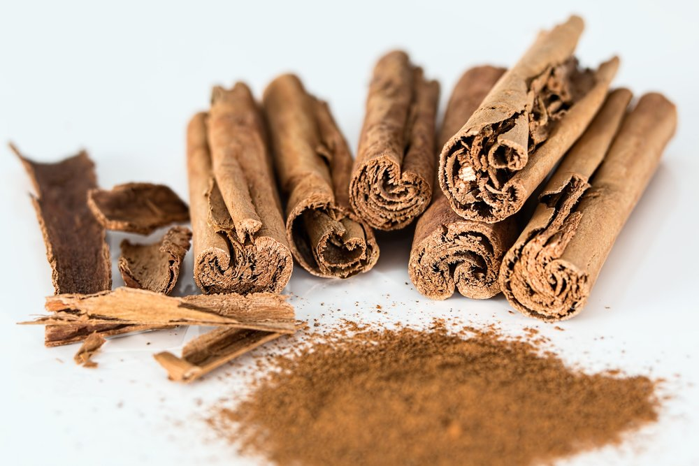 cinnamon - Cinnamon is a powerhouse spice with a high amount of antioxidants and anti-inflammatory properties. It also has many health benefits such as promoting better digestion and immunity and it has the ability to control and lower blood sugar levels.