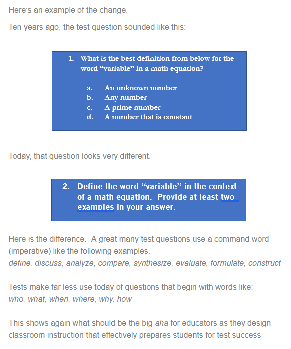 leading question definition examples