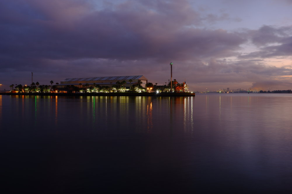 Newcastle Harbour at Dawn