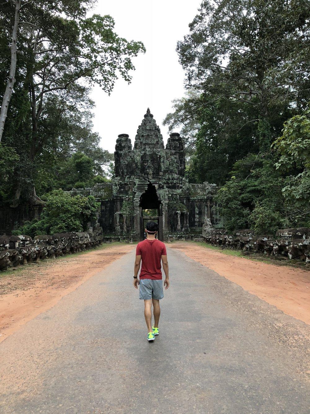 Angkor Thom in Angkor Wat