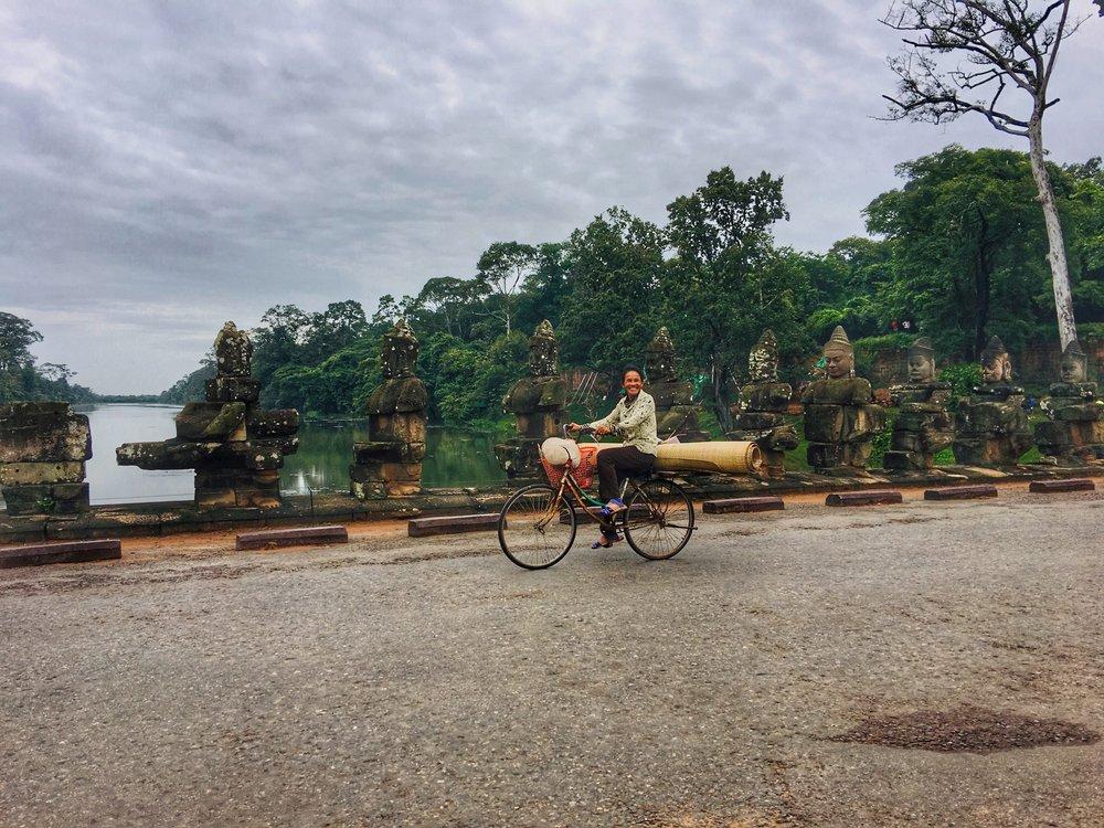 Angkor Thom's Gate