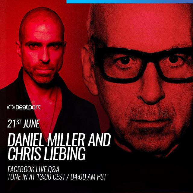 We're tuning in to this live Q&A between the Boss Man Daniel Miller and Techno gent @chris_liebing tomorrow on the @beatport Facebook page - 12pm GMT / 1pm CEST / 4am PST Make sure to follow Beatport on Facebook to be notified once it goes live 💪