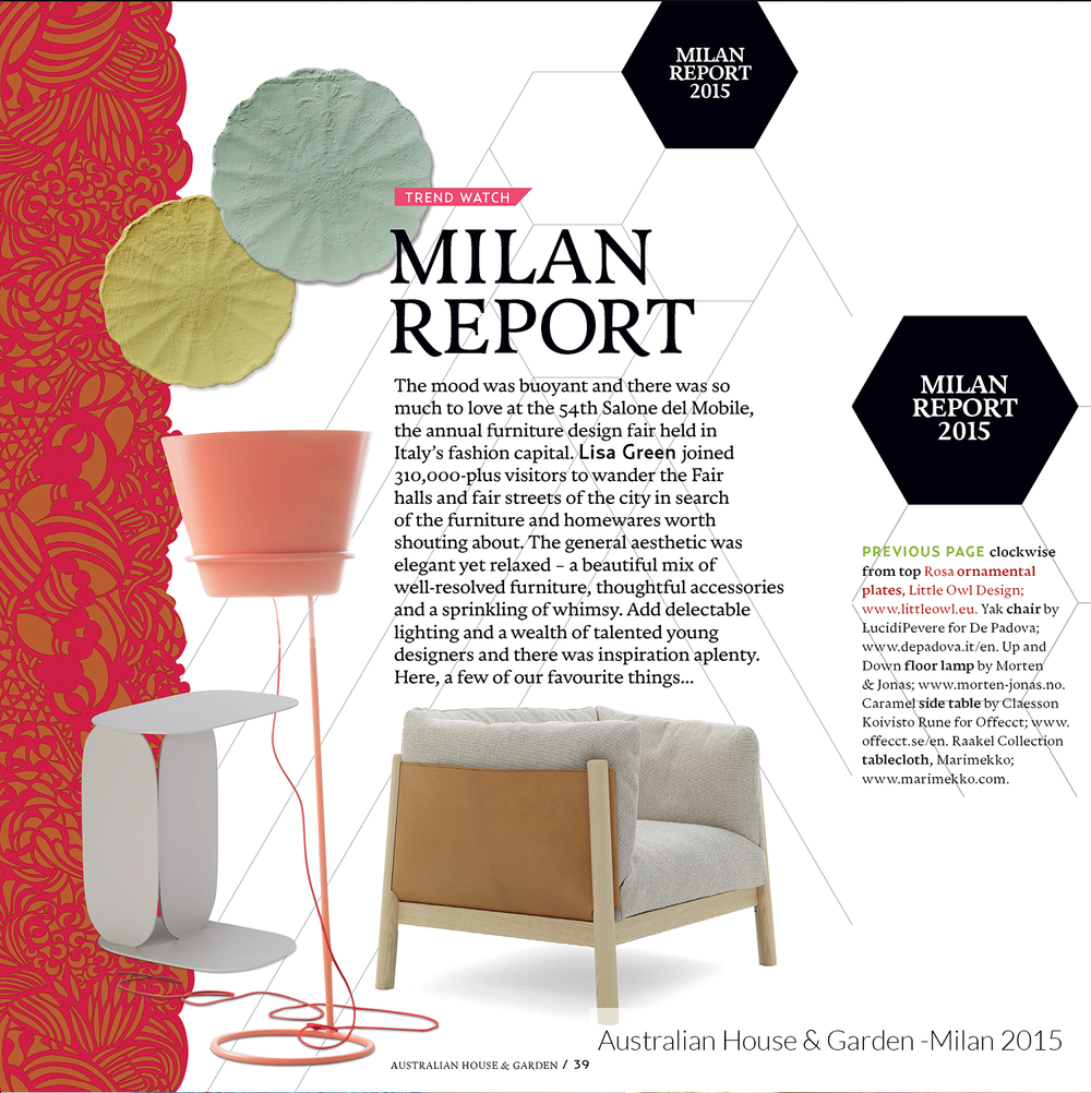 Australian House&Garden Milan-2015