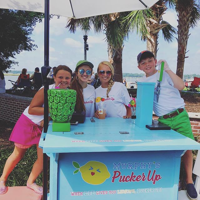 Thanks to everyone that came out to support Murphy's Pucker Up Yesterday! It was a great first run with the cart. #puckerup 🍋🍉