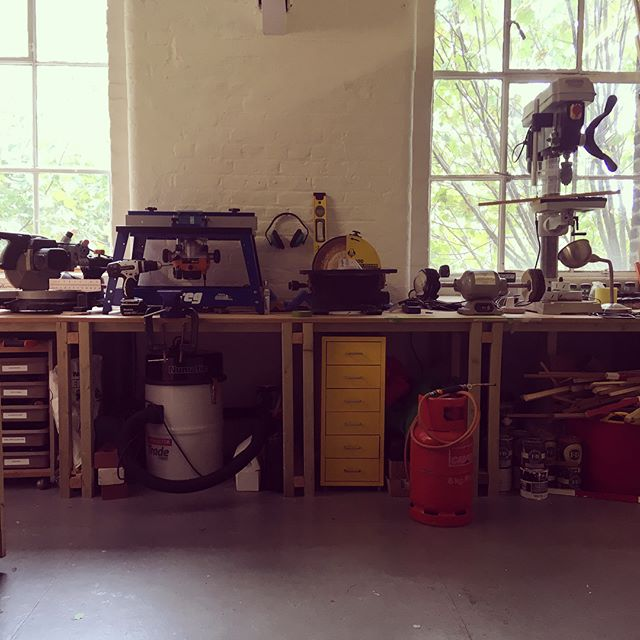 I'm opening up my studio doors today for Open Studios in Hackney Wick, come and visit! It is part of Space studios 50th anniversary, the largest open studios across all its sites. I'm studio 306, Bridget Riley Studios, 43-45 Dace rd, E3 2NG, the studios are open 12-5pm. #comeandsayhi #openstudio #allwelcome #space #50 #Toollove #ilovemytools