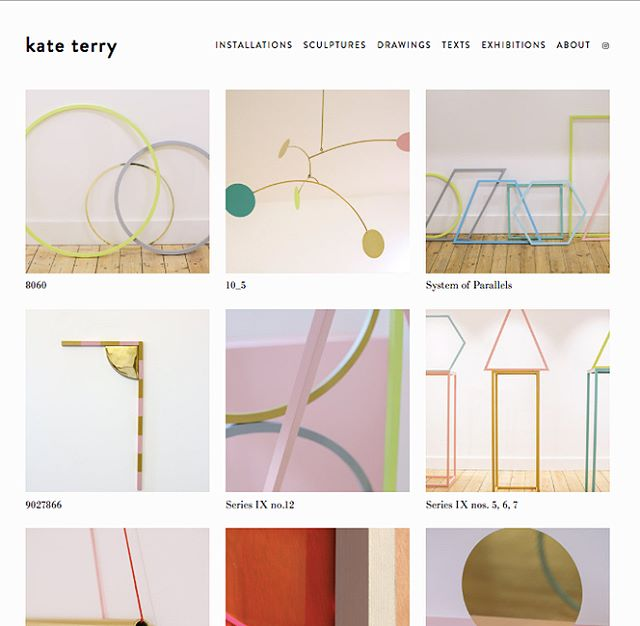 New website 👍🏼 . . . Link in bio #contemporaryart #sculpture #installation #contemporarydrawing #kateterry #portfolio #artwork #texts