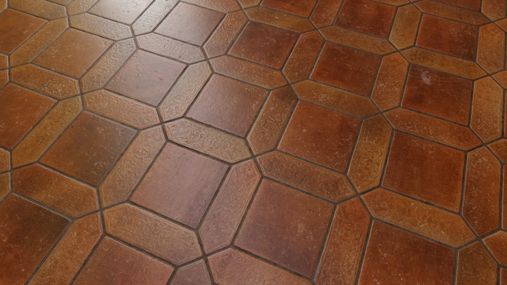 Indoor Tiles - Procedural Materials