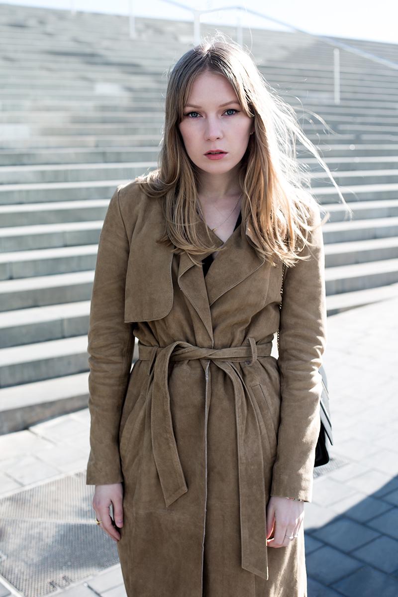 70's Suede Coat