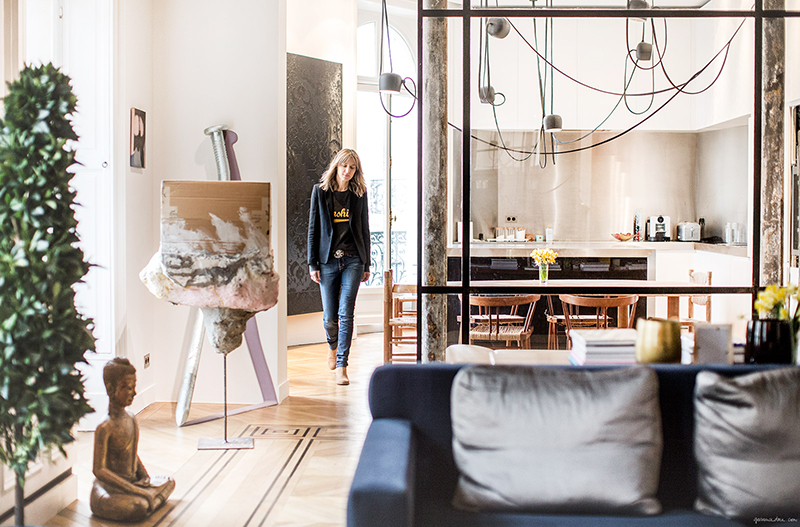 at home with Cecilia Bönström