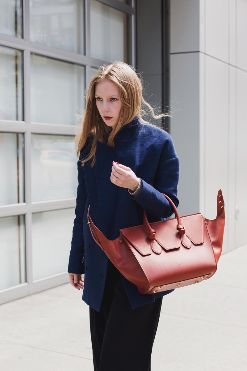 Celine tie handbag