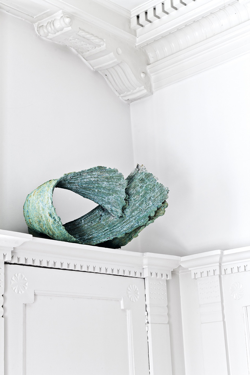 Porcelain sculpture by Mette Maya Gregersen