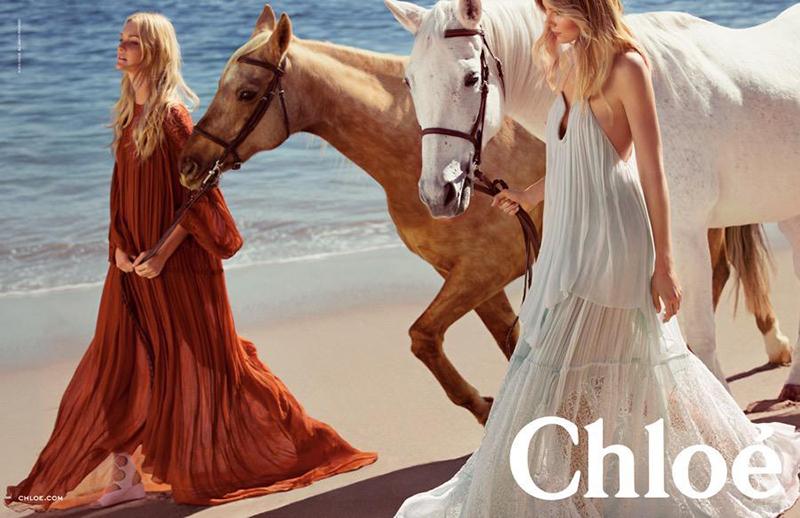 Chloé Spring 2015 campaign