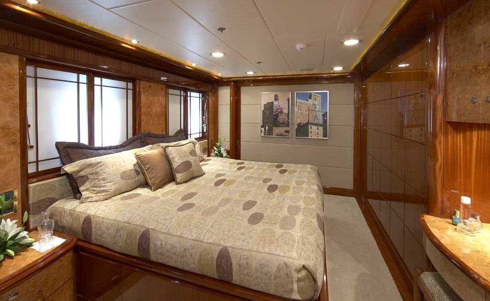 Luxury Charter Yacht Lady Leila Guest Stateroom