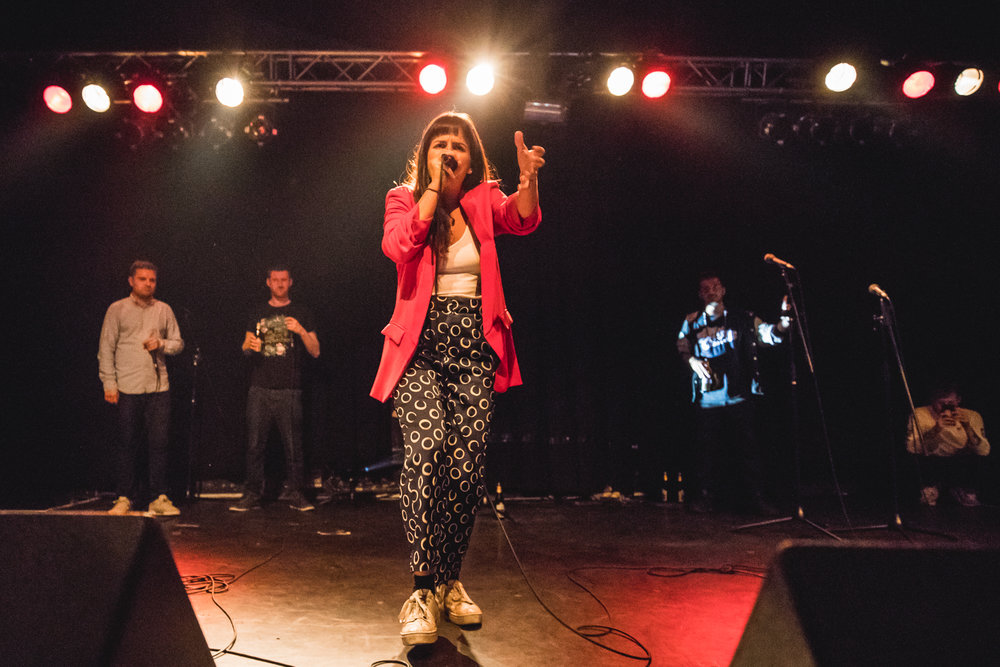 BELLATRIX   An original world female beatbox champion Bellatrix is known for her distinctive style and musicality. This bold artist, who was the first professional female beatboxer in the UK, also has a degree in jazz double bass from the Guildhall School of Music and Drama and it shows. Bellatrix is an extremely experienced musician and performer with a particularly individual charm, and will add her own twist with mastery.