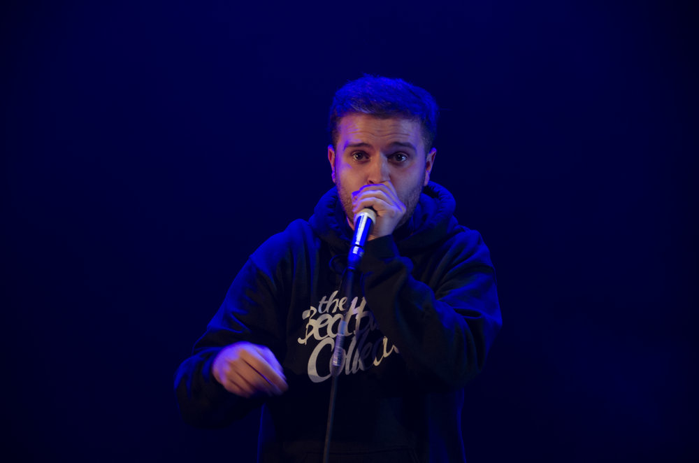 EXPERIMENTAL   Experimental knows what it takes to get crowds going. From a young age, he's performed in front of huge crowds in West End musicals, later finding his rhythm as a beatboxer. To date, Experimental has featured in major adverts doing what he does best and has graced some of the biggest festival stages. A longstanding, engaged member of the UK Beatbox scene, Experimental is a hugely exciting young talent.
