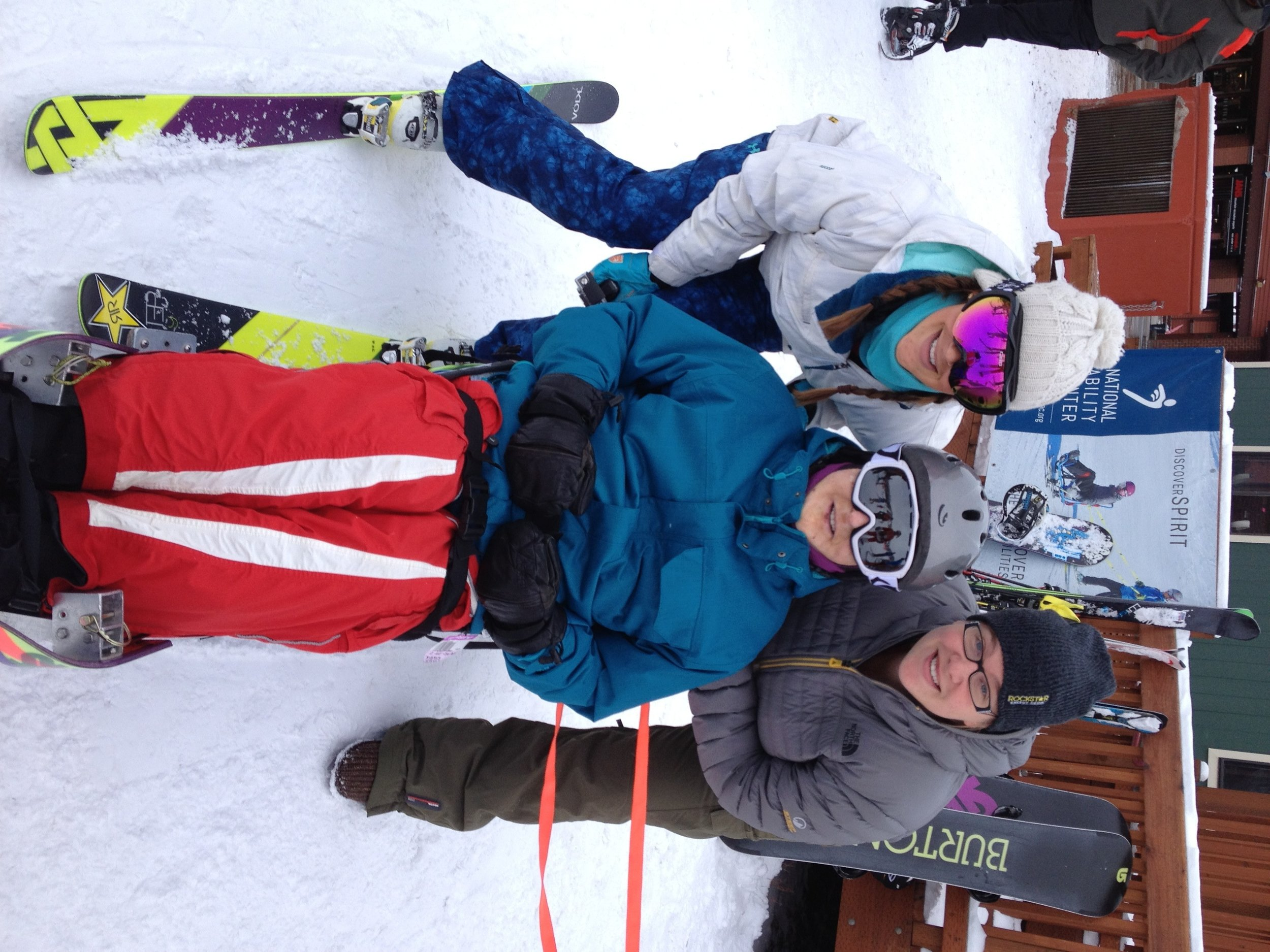 Me and my sister took our dad to the National Ability Center to sit-ski on Christmas Day 2014. We had no idea it would be our last Christmas together.