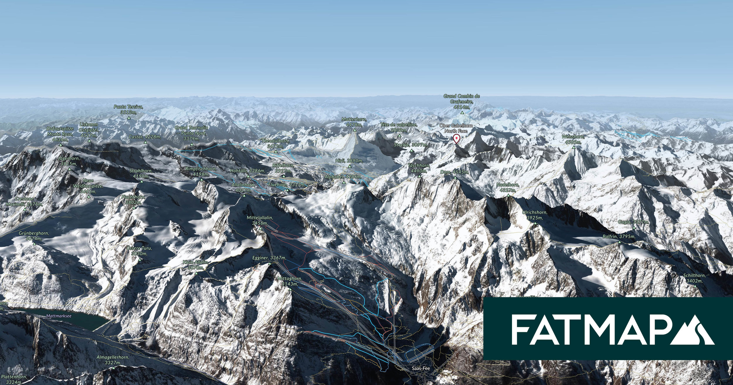 Introducing the World\'s First Winter Map of the Entire Alps 🎉 — FATMAP