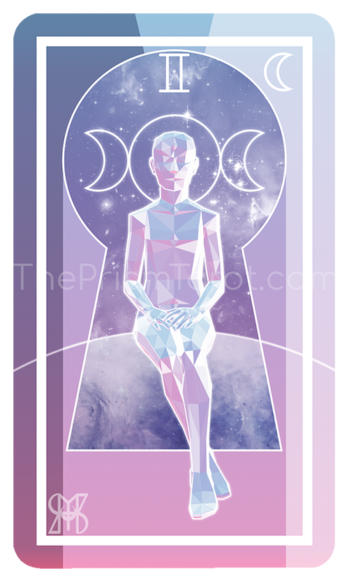 The High Priestess — The Prism Tarot