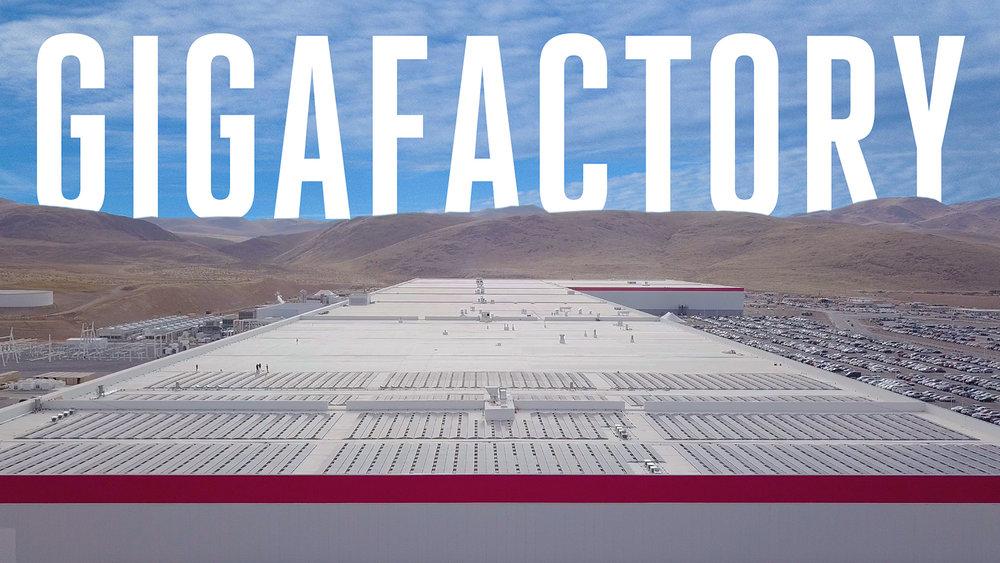 Tesla Gigafactory (Director, DP, Editor)