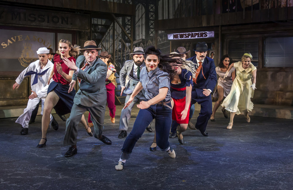 GUYS AND DOLLS - Kilworth House Theatre, Leicestershire UK