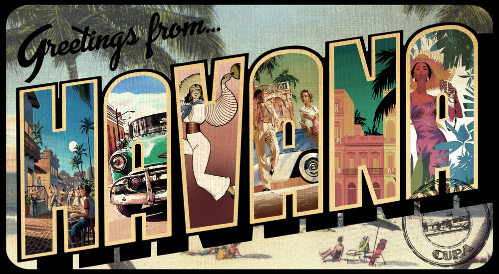 Stage Right Havana Billboard Artwork