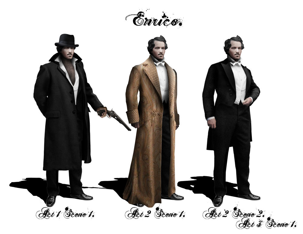ENRICO - Costume Designs