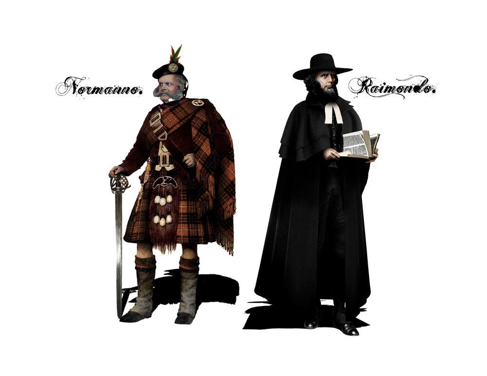 NORMANNO & RAIMONDO - Costume Designs