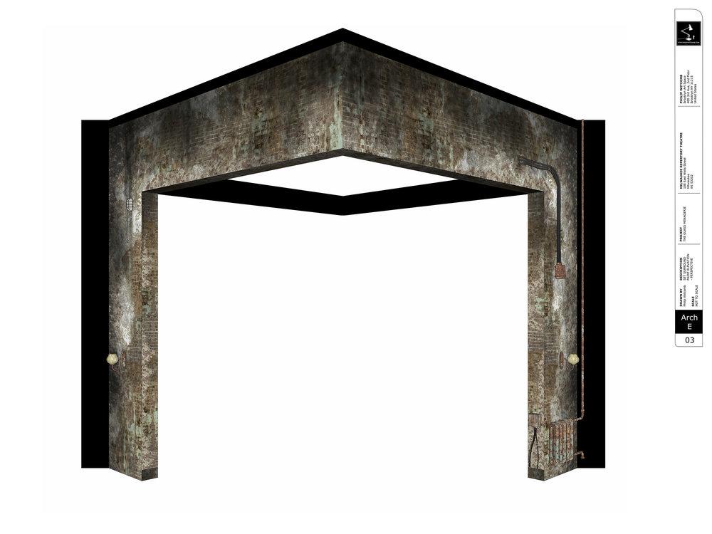 Set Surround - Paint Elevation Perspective