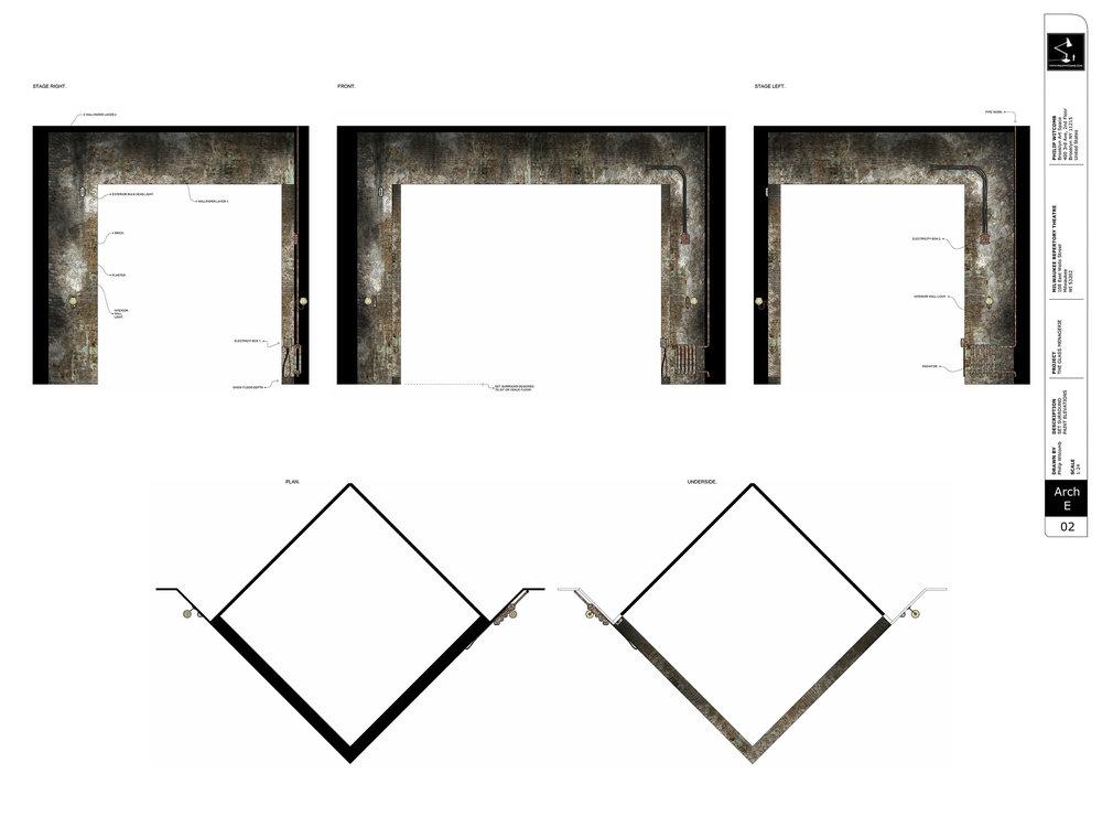 Set Surround - Paint Elevation