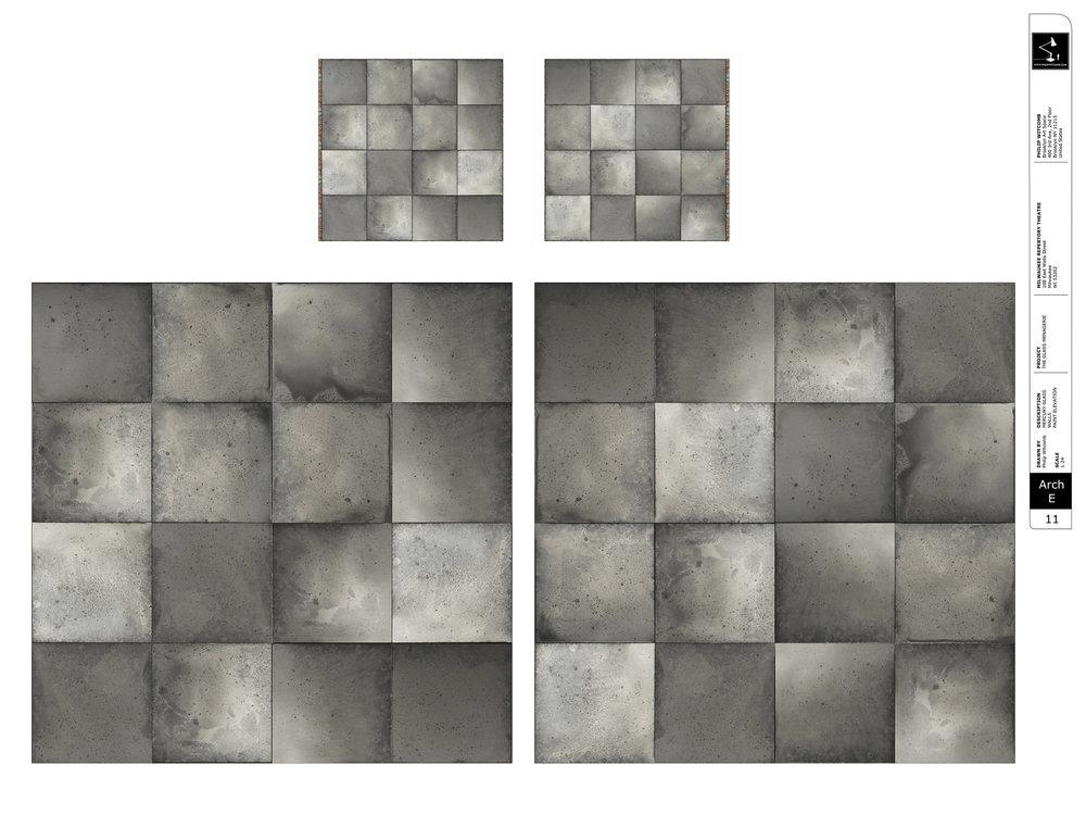 Mercury Glass Walls - Paint Elevation