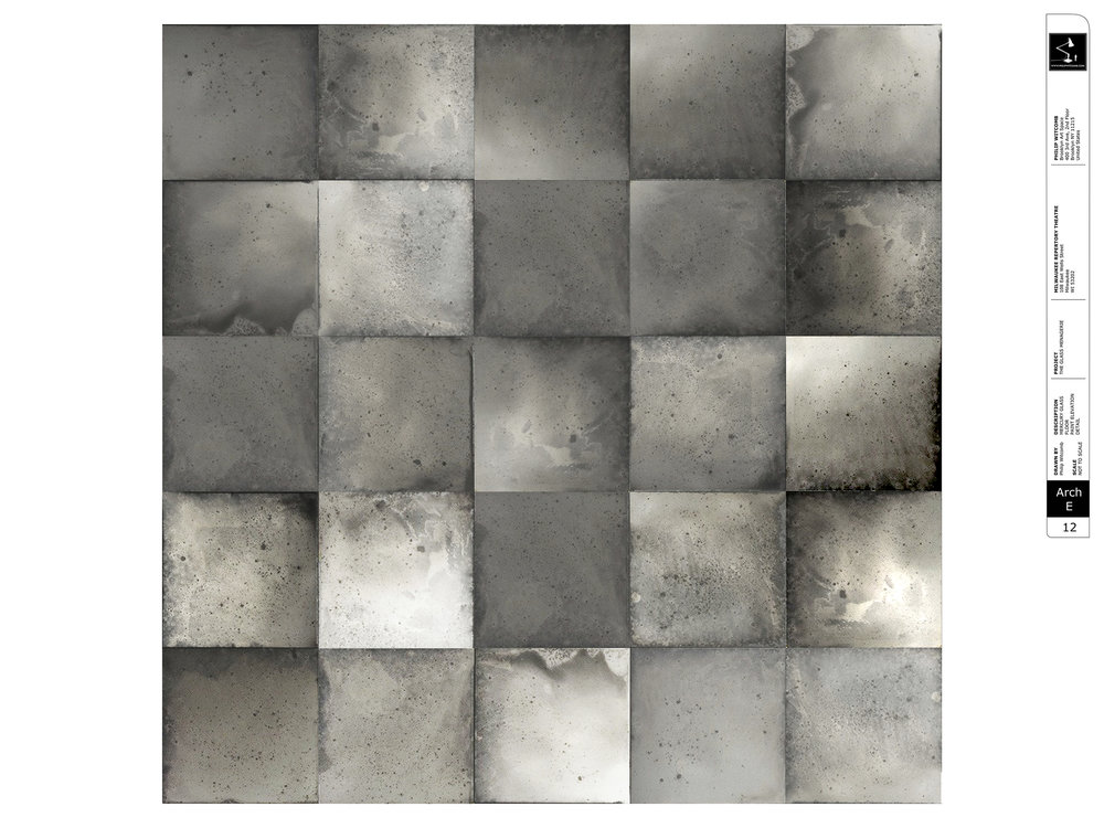 Mercury Glass Floor - Paint Elevation