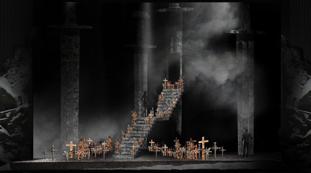 RODELINDA - IU Opera Theatre, Indiana USA